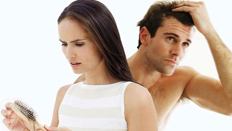 hair loss couple