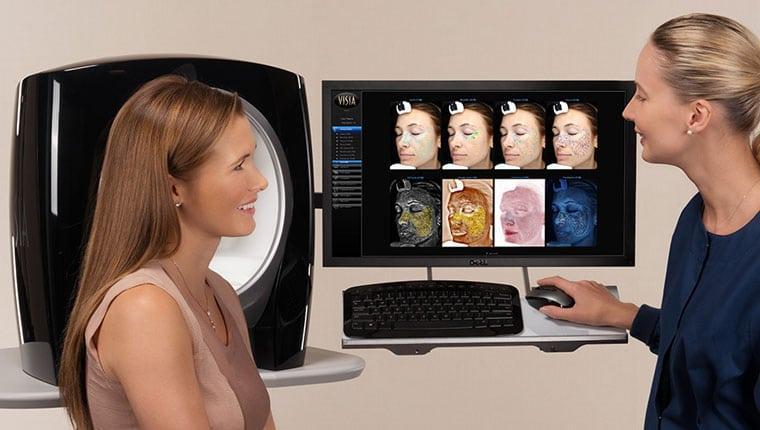 VISIA esthetician patient consult RGB