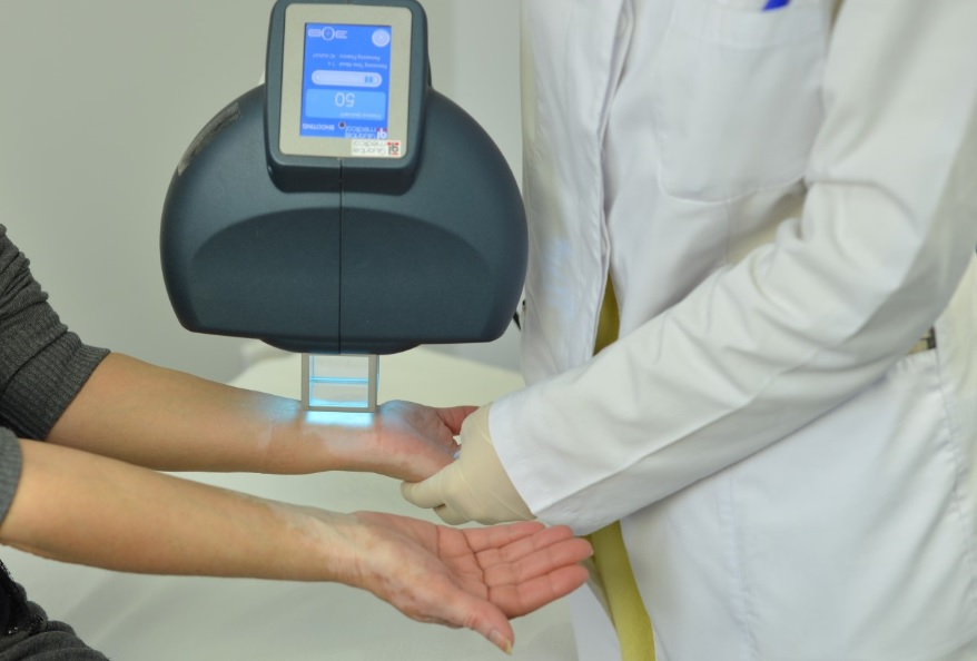 λεύκη - φωτοθεραπεία